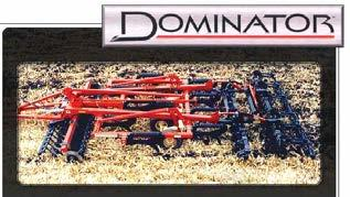 By managing residue in the fall and leaving a more level fall seed bed condition, the DOMINATOR sets the stage for fast efficient spring seed bed trips and maximum yields.