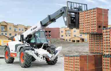 Combine the speed, agility and strength of a skid-steer loader with the extended reach of a telescopic, and you ve got a machine that s versatile enough to handle anything.