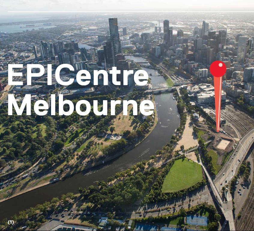 Page4 Inspired by a shared love of home City and State, EPICentre Victoria will become a nationally and internationally recognised beacon for Melbourne, The Melbourne PIN becoming the spot from which