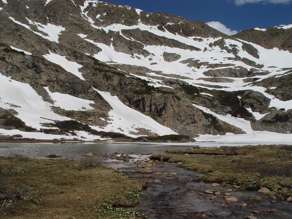 Range. 2. In Indian Peaks Wilderness, hike the Blue Lake Trail near Brainard Lake. 3.
