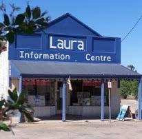 Laura Information Centre news: Folk Fair weekend was again a busy time for the Laura Information Centre with 159 recorded visitors and good sales.