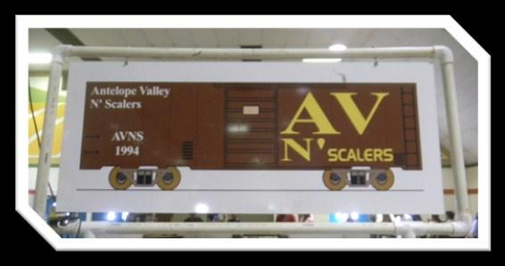 Besides our friends at the High Desert Modular Model Railroad Club (HDMMRC), my apologies for not getting pictures, there was also the AV N Scalers of which
