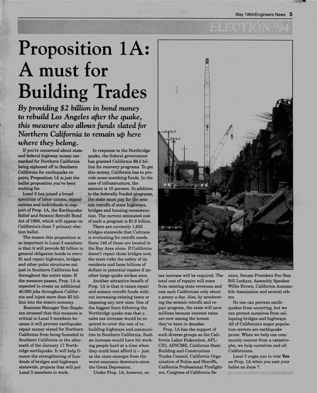 lim! May 1994/Engineers News 5 4 996.