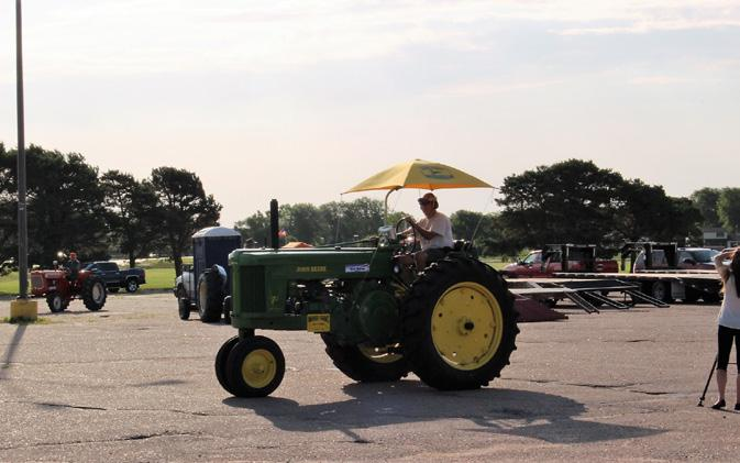 Nebraska Tractor Drive in the amount of $2000.