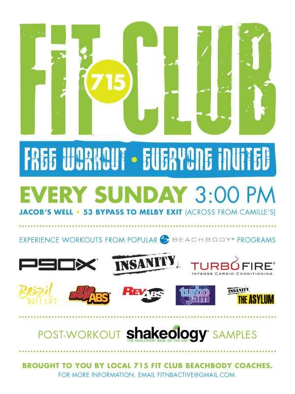 The HOTTEST club in town... Experience the FIT CLUB phenomenon!