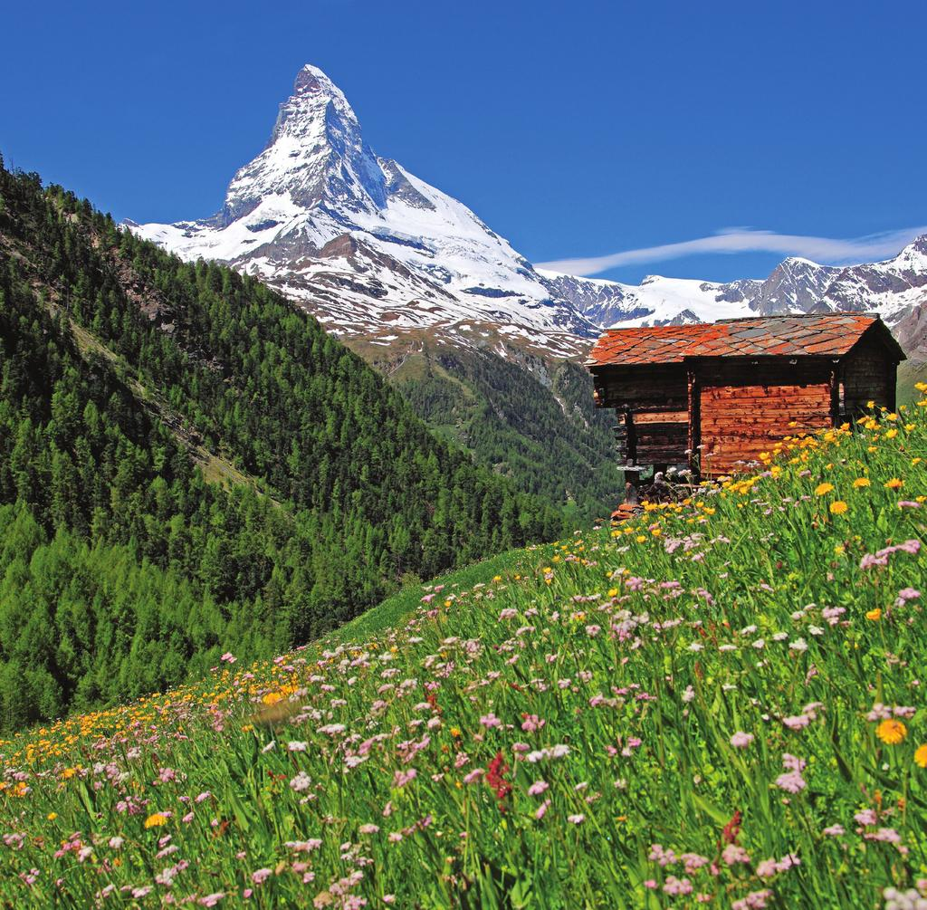 ALPINE SPLENDOR Switzerland and Austria August 29-September 11, 2019 14 days from $5,692 total