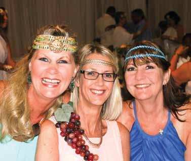 NEWS Greek goddesses Travel industry peers in Durban gathered at a Trogs luncheon at the Hellenic Hall earlier this month to celebrate the year-end in Grecian style.