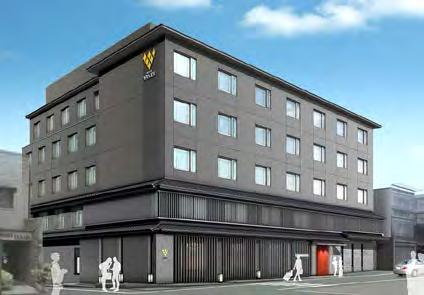 VISTA HOTEL MANAGEMENT New Hotels to be Operated by the Group Hotel Vista Premio Kyoto Nagomitei - scheduled for opening in 2018 summer The hotel is currently under construction