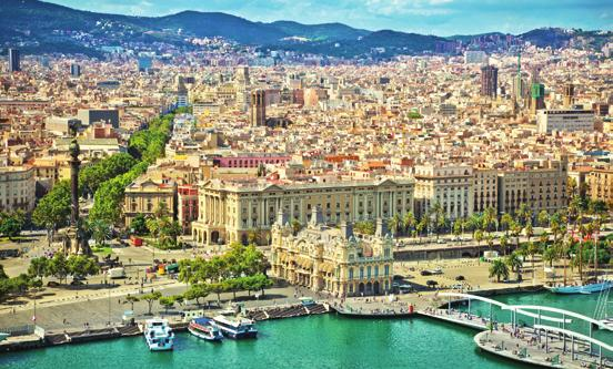 BARCELONA MORNING CITY VISIT 3½ hours See the most famous sights of Barcelona including the Ancient Gothic Quarter and the ultra-modern Olympic Village.