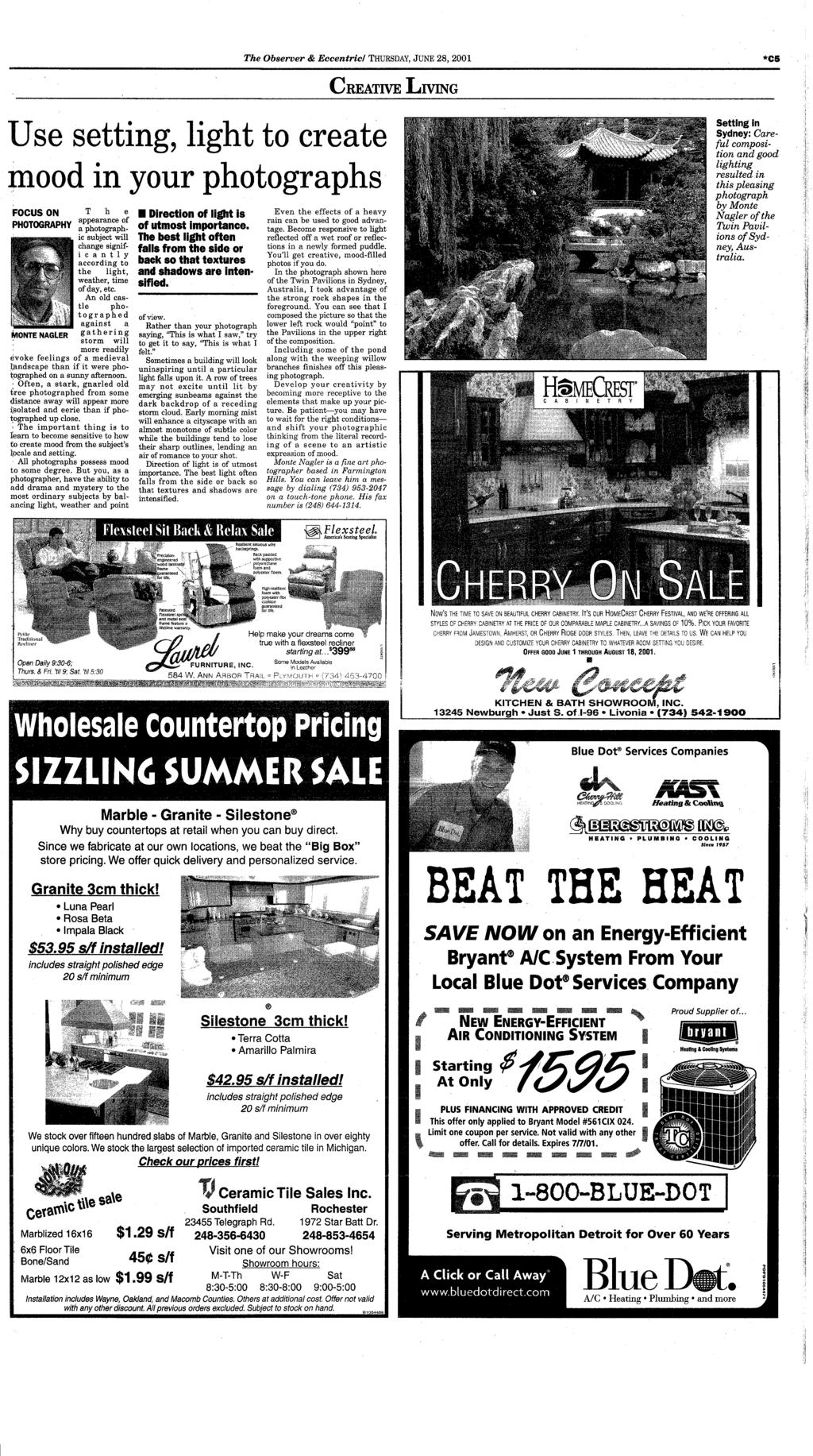Canton dbsmrc your hometown newspaper serving canton for 26 years pdf the observer eccentric thursday june 28 2001 c5 creative living use fandeluxe Gallery