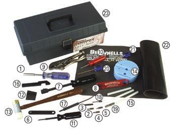 1911 AUTO GUNSMITHING TOOLS The Tools You Need To Do Quality Work On 1911s This kit includes the 21 most essential tools necessary to assemble, disassemble, improve performance, and to do general