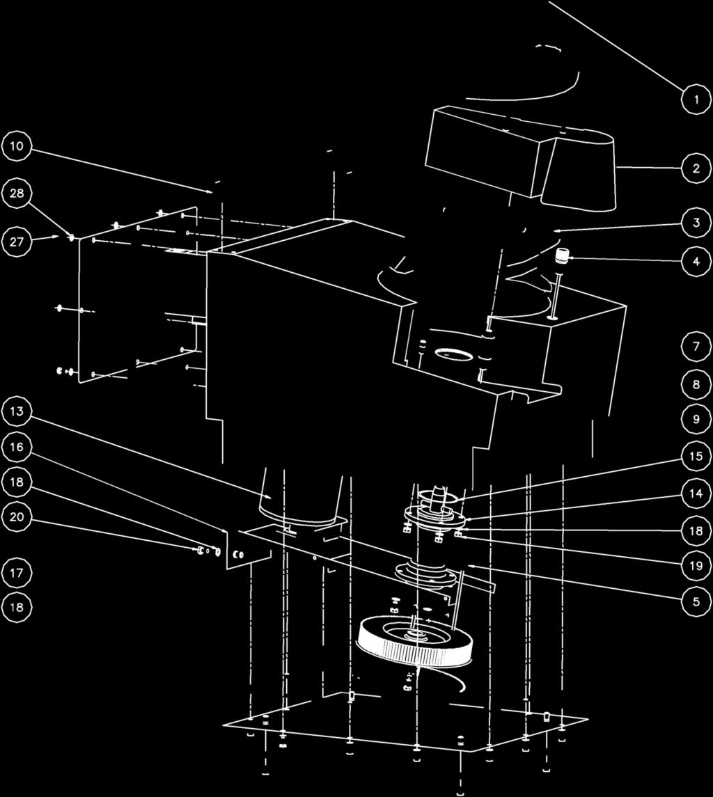 Metcalfe Ec12 Electrically Operated Potato Chipping Machine Chipper Box Wiring Diagram 11 Exploded View 10