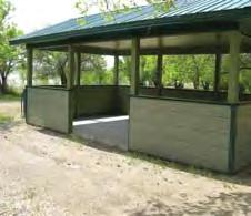 and park facilities which do not contribute to a