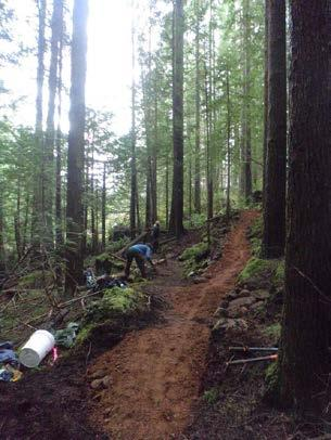 6. Maintenance Trail maintenance is an integral component of managing trails.
