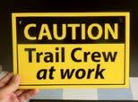 Undesirable activities on and around the trails are discouraged by the very presence of trail users.