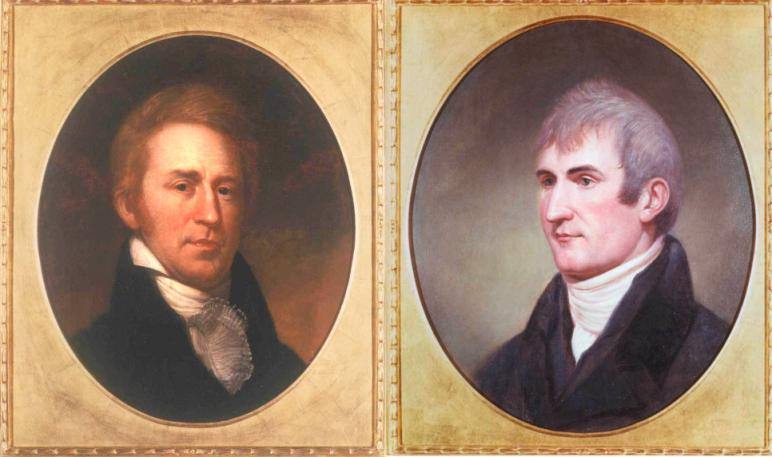 Introduction Lewis and Clark In 1804, an expedition set out from near Saint Louis to explore the land between the Mississippi River and the Pacific Ocean, The United States had just purchased part of