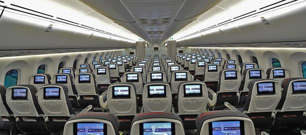 BENEFITS OF AIR CANADA 787 B787 operate existing B767 routes more efficiently and