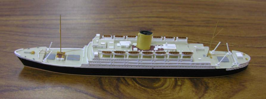 WMS (WIRRAL MINIATURE SHIPS) Originally selling assembled & painted Len Jordan models using at one time the trade name Britannic, WMS are now producing their own resin
