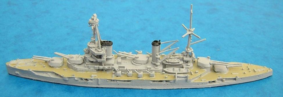 USN Models in the Original Series Argonaut French battleship Provence About twenty six models were produced, mainly patrol vessels, minesweepers and some destroyers.