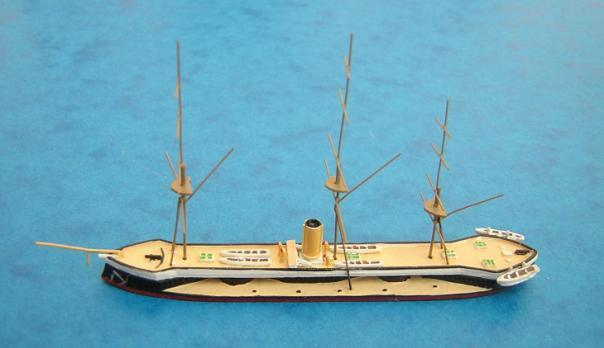 Hai Guiseppe Garibaldi All currently listed models of British and American ships, with catalogue numbers, are given in the following two tables.