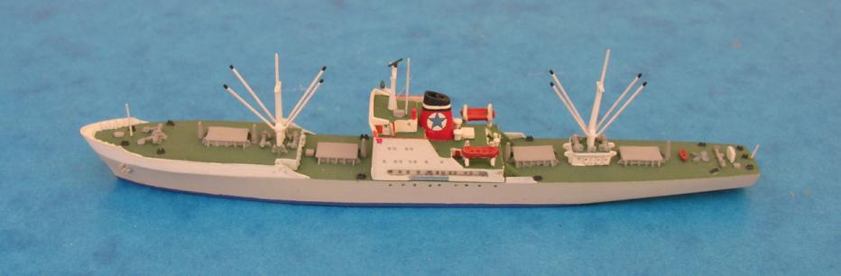 Biederkarken Tuscan Star Binkowski: of interest to British collectors if only for superb models of the Queen Elizabeth and Queen Mary as wartime troopships (now produced by CM).