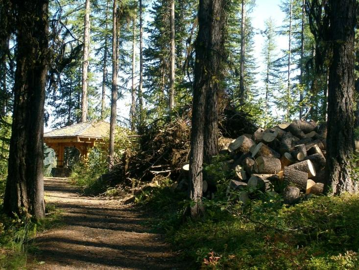 Sherman Overlook Campground is a small fee campground located just north of State Highway 20, approximately one mile east of Sherman Pass.