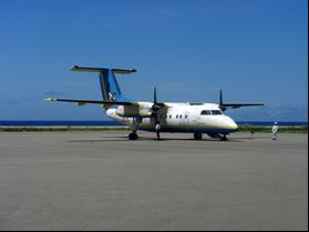 Figure 75: Bombardier Dash-8 100 (left) and Dash-8 300 (right) series turboprop aircraft [206].