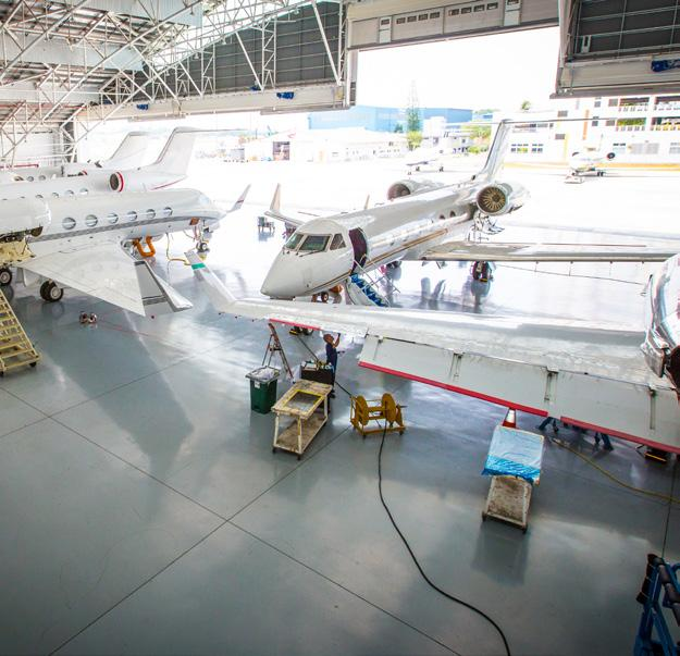 Singapore maintenance refurbishment fbo services pdf jet aviation is a line and base maintenance station for the airbus acj and boeing bbj fandeluxe Images