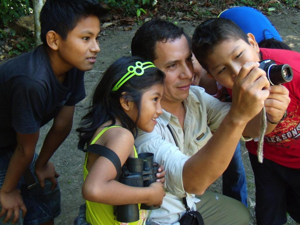 PEOPLE FROM LOCAL COMMUNITIES TRAINED ON ECOTOURISM EDUCATIONAL WORKSHOPS FOR CHILDREN ON