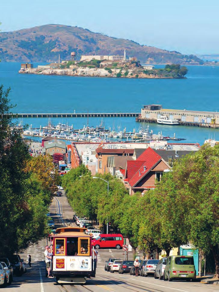 San Francisco 7 Amid the fog and the clatter of old-fashioned trams, San Francisco s (p 121 ) diverse neighborhoods invite long days of wandering, with great indie shops, world-class restaurants and