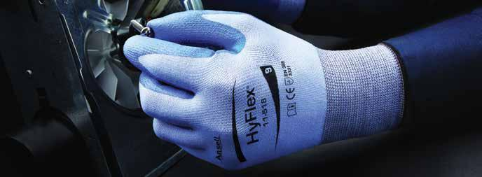 High abrasion resistance extends glove life. ANSI cut level 2, ANSI level 3 abrasion resistance. 12 Pk/Cs.