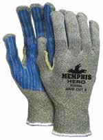 9672 93868L 331488185 Memphis Hero gloves w/ PVC stripes one side L 12/Pk 93868XL 331488195 Memphis Hero gloves w/ PVC stripes one side XL 12/Pk 9672-L 331497025 Memphis