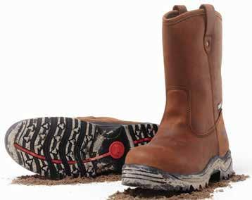 "New Products Category Mack Turbo This 6"" hiking style, lace up boot with steel toe is designed for the warehouse and transport industries."
