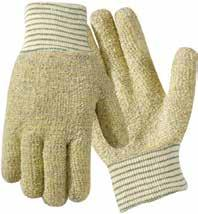 H-183 1666 Jomac Standard Weight Poly/Cotton Gloves Poly/cotton blended loop-out terry with knit wrist.