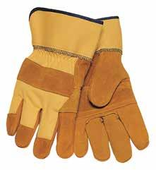 1528 Mustang Leather Palm Gloves Made from premium grain cowhide leather and cotton. Naturally suited for wet or insulated conditions.