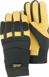 reduce damage from vibration and excessive grip pressure. Helps to minimize shock that can result in carpal tunnel syndrome.