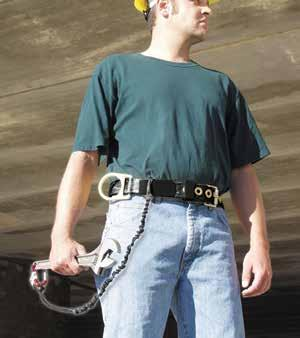 Fall Protection Anywhere throughout the workplace where there is potential for falling,