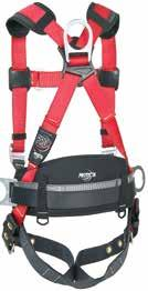 1500015 458055151 Tool Cinch Attachment w/ 2 Stabilization Wings 1500015 1191209 PRO Construction Style Harnesses Designed with integrated comfort padding on shoulders and hips.