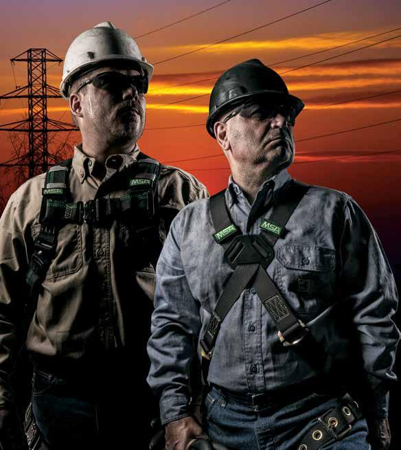 New Category Products MSA Workman Arc Flash Harness provides excellent arc flash protection in a sleek, black design that s lightweight and comfortable.
