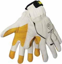 The high strength nylon is designed to maintain its integrity after exposure to an arc flash and in the event of a fall.