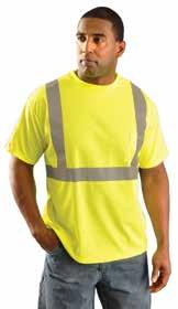 Category Hi-Viz Apparel Standard Wicking T-Shirt with Pocket Made of 3.8 oz.