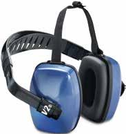 Category Hearing Protection rmuffs QM24+ QM24+ rmuffs Three-position, ultra-lightweight earmuffs weigh only 6 oz. Feature high-visibility red cups, black headband and replaceable muff cushions.