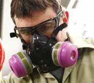 550030 North 7700 Series Silicone Half Mask Respirators The 100% silicone facepiece is flexible, to provide a soft, secure and comfortable fit.