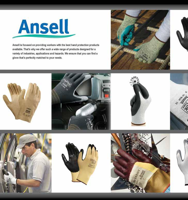 Employers are required to provide workers with gloves suited specifically for each work