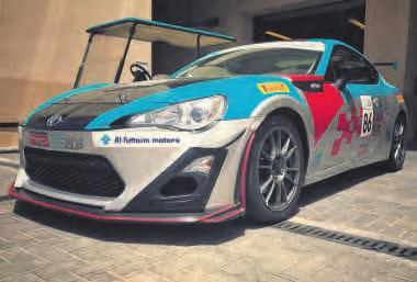 launch of the updated Toyota 86, which saw a select group of media headed to the United racing