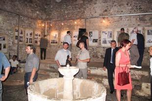 The Hamam Gallery, Prizren Posetioci na otvaranju izložbe,  Visitors to