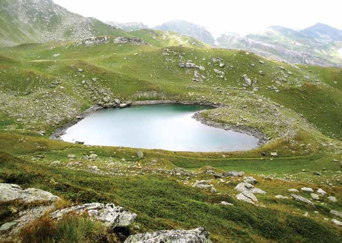 STORIES OLD AND NEW OF A COUNTRY THRIVING 137 Zemra Lake is a mountain lake in Kosovo, located near the peak of