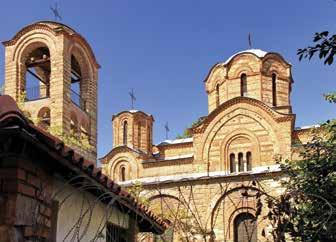 STORIES OLD AND NEW OF A COUNTRY THRIVING The Church of the Holy Virgin of Ljeviš in Prizren 45 The Gračanica Monastery The Patriarchate of Peja/Peć Monastery, the Gračanica Monastery and the Church