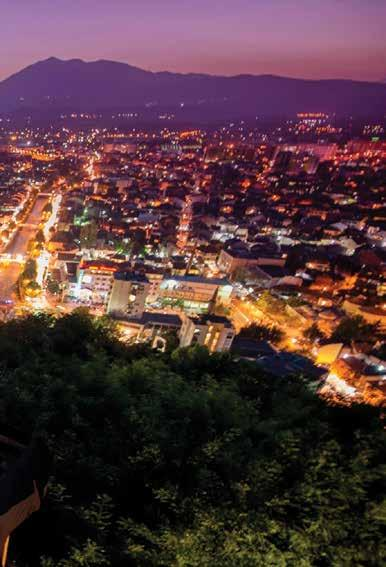 STORIES OLD AND NEW OF A COUNTRY THRIVING It is extremely visually and spiritually fulfilling to watch all this energy way above from the Prizren Castle or even watch movies in the castle gate.