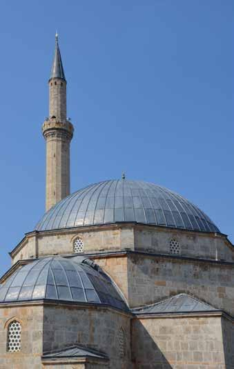 AS WE ARE A LIVING HERITAGE IN CONTEMPORARY DYNAMICS Mosques Sinan Pasha Mosque Just across the old stone bridge, dominating the city center, stands the mosque of Sinan Pasha, built in 1615.